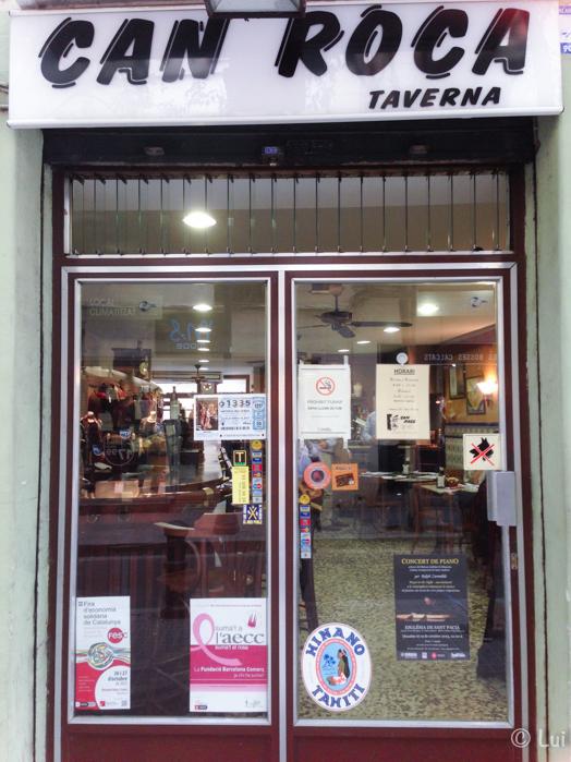 Fachada Can Roca Taverna