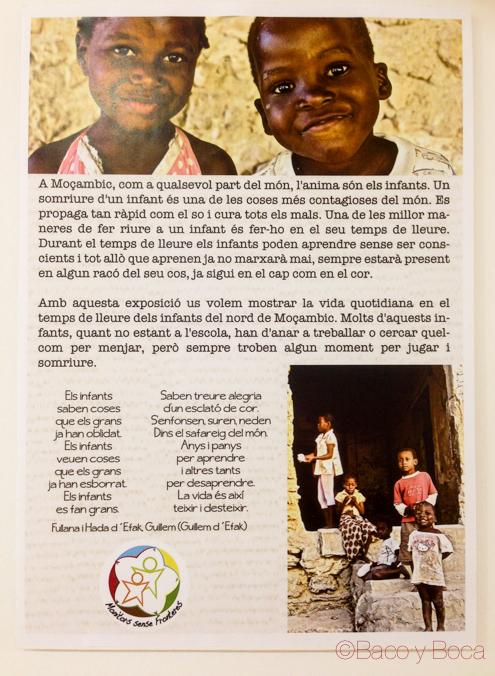 Exposición fotografías Mozambique