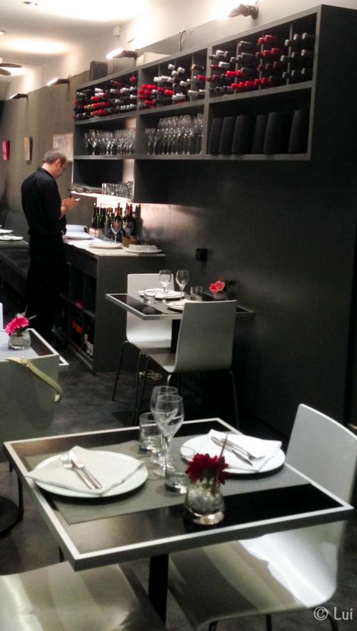 Interior Restaurante Apat Barcelona