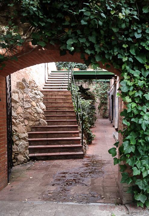Entrada a Restaurante La Balsa Barcelona