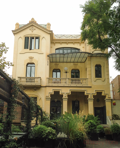 Palacete Dos Torres restaurante Barcelona