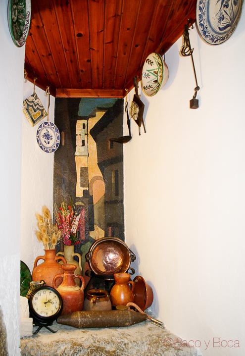 Rincon en restaurante Alcazaba Albarracin