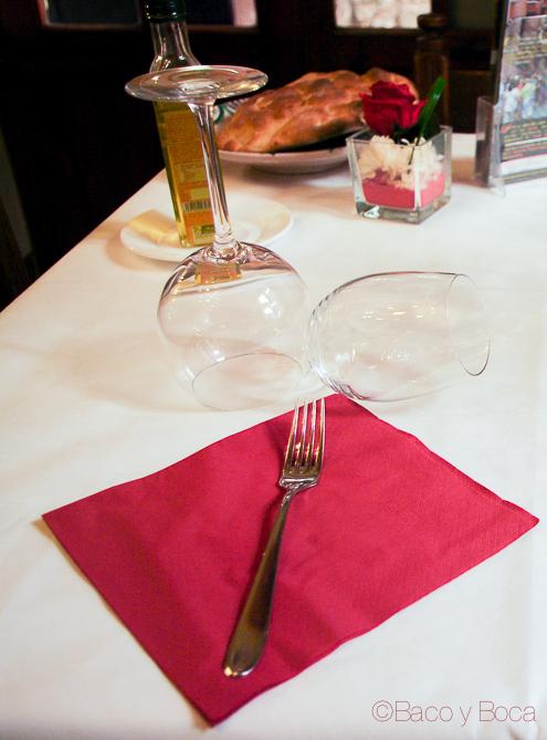 Servicio en restaurante Alcazaba Albarracin