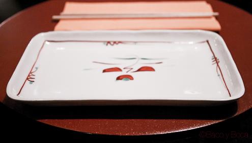 Mesa en Bun Sichi restaurante japones barcelona pasaporte time out