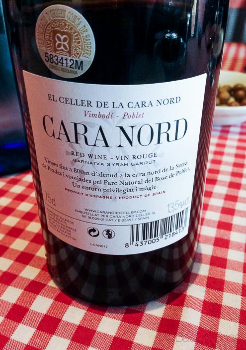 Cara Nord vino
