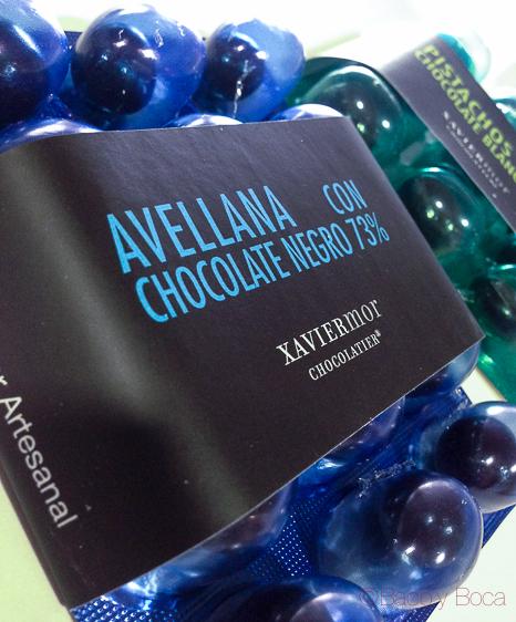 Avellana chocolate negro 73% Xavier Mor Bacoyboca