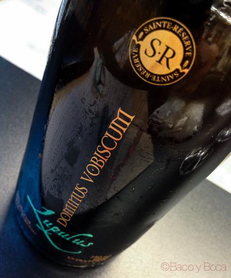 Dominus Vobiscum Lupulus gourpass cerveza artesana canadiense baco y boca