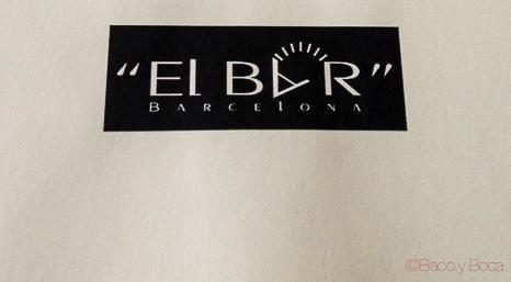 Logo El Bar Baco y boca