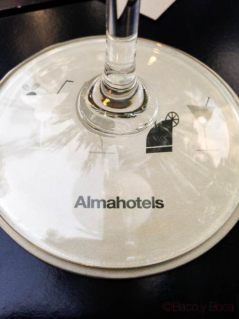 posavasos Hotel Alma Barcelona bacoyboca