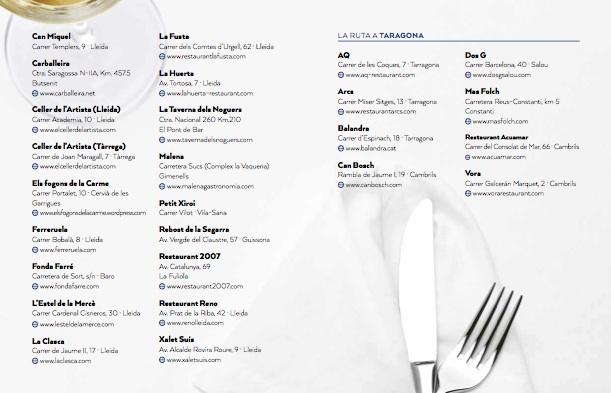 restaurantes de Ànima de Raimat