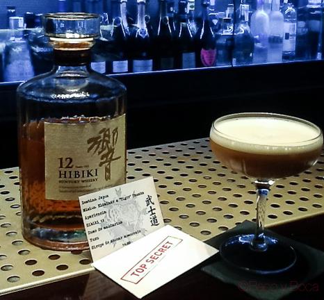 Hibiki Santory Whisky top secret solange baco y boca