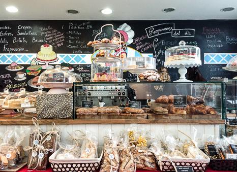 Pizarra interior Giulietta Cafe Baco y Boca
