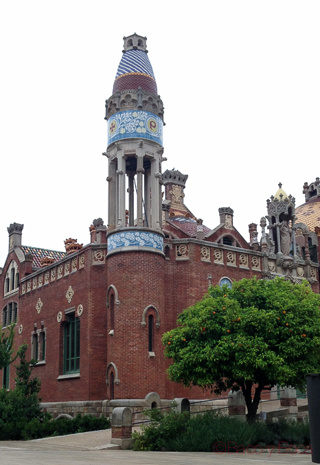 Torre Sagardi Recinte Modernista Hospital Sant Pau Bacoyboca