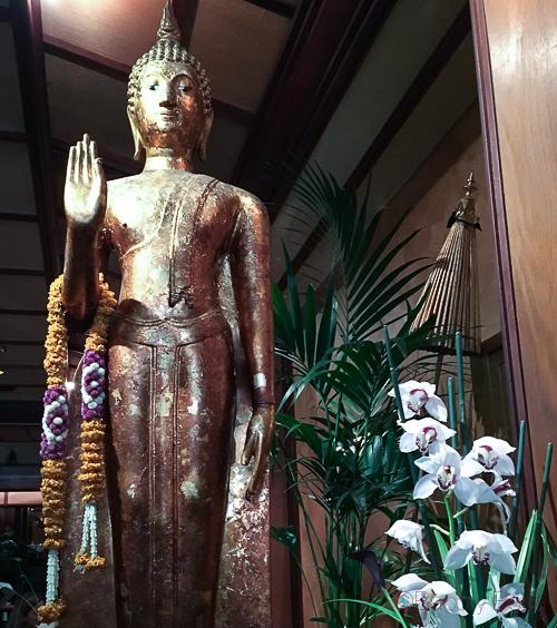 Buda Thai Garden Baco y boca