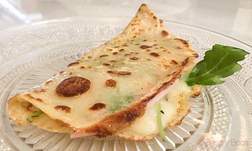 crep jamon y queso Oriol Balaguer Baco y boca