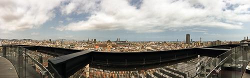 panorámica terraza Barcelo Raval Brunch baco y boca
