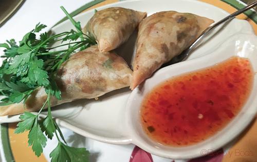 PED SON RUB en thai garden baco y boca