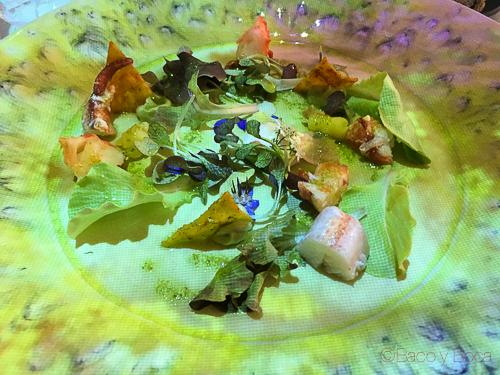 ensalada templada bogavante spoonik bacoyboca