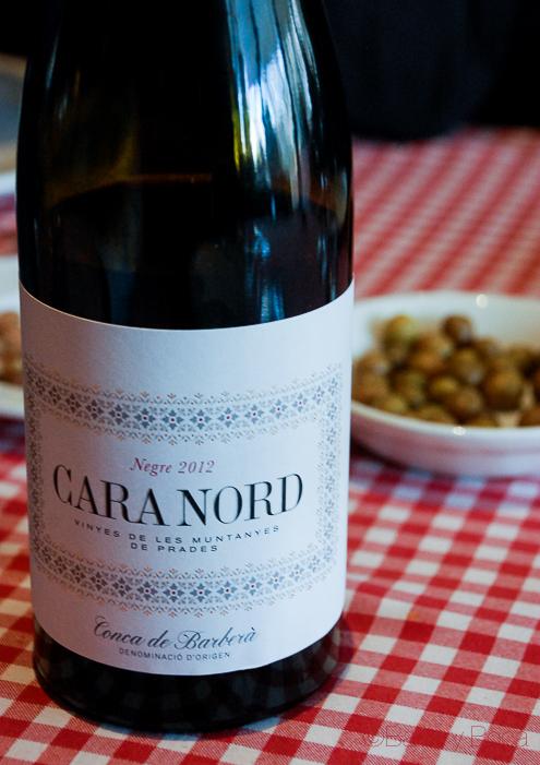 Cara Nord botella en Hostal Sport_