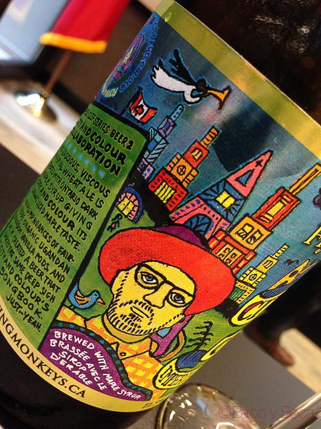 Flying Monkeys cerveza artesana canadiense baco y boca_