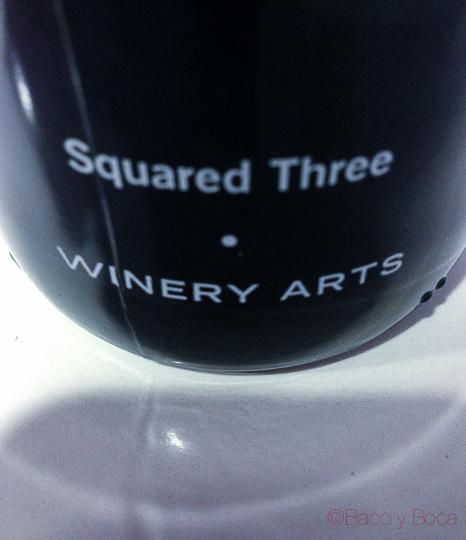 3 al cuadrado winery Arts baco y boca
