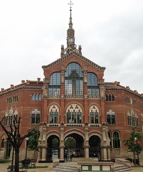 Fachada Sagardi Recinte Modernista Hospital Sant Pau Bacoyboca