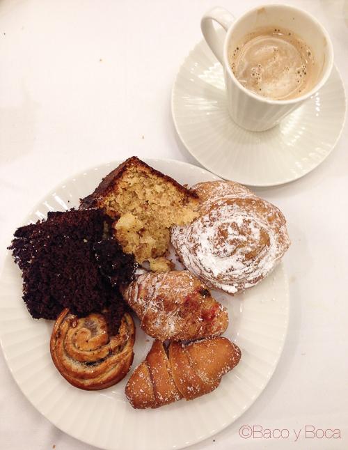 dulces desayuno avenida palace baco y boca