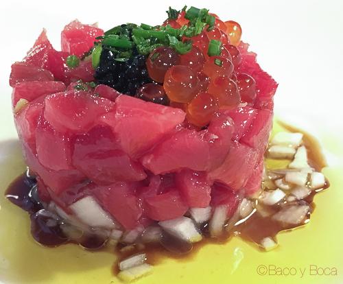 tartar restaurant El Moli dels avis bacoyboca